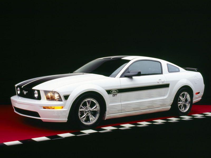 Форд мустанг белый фото