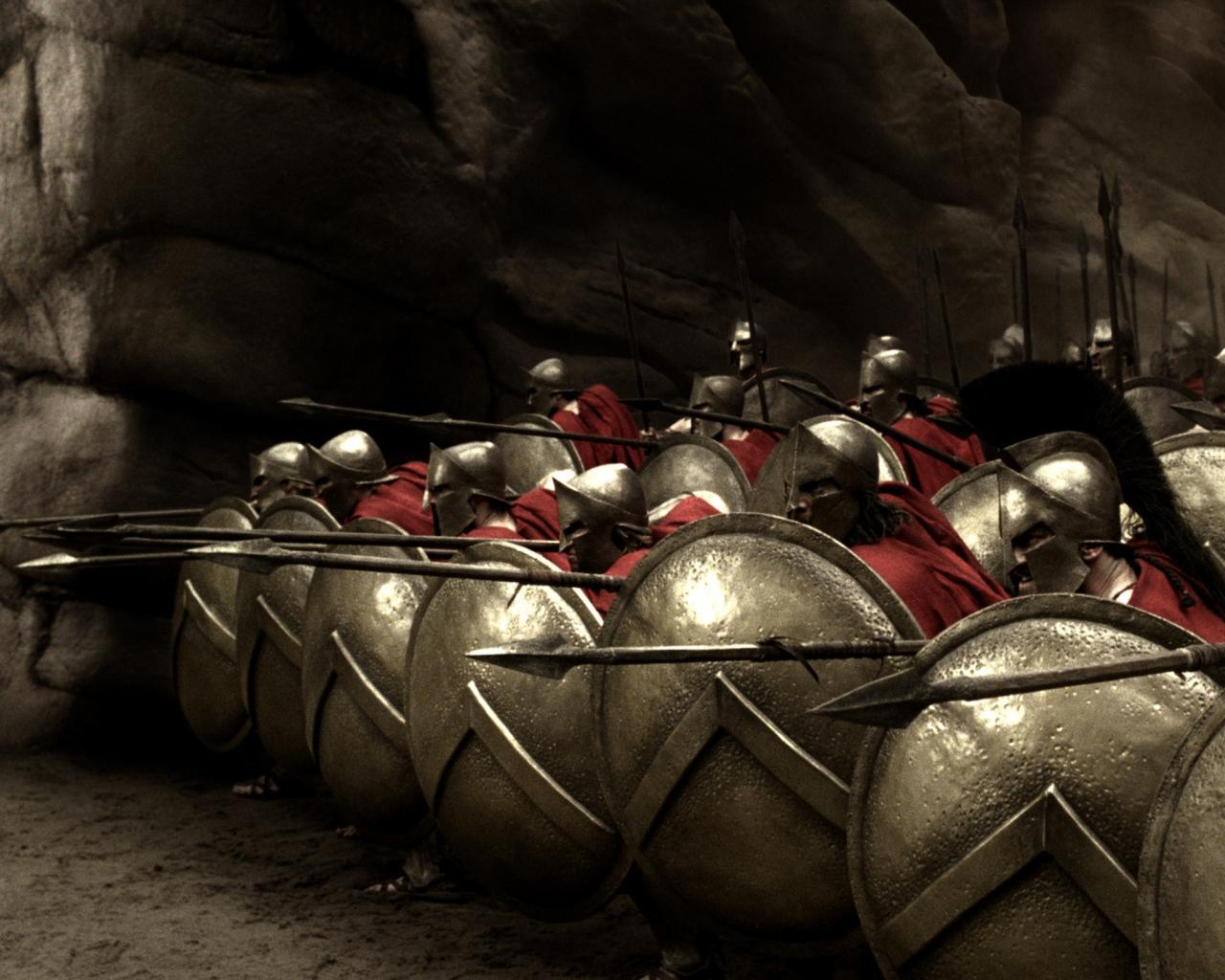 300 спартанцев, копья, воины обои для рабочего стола, картинки ...