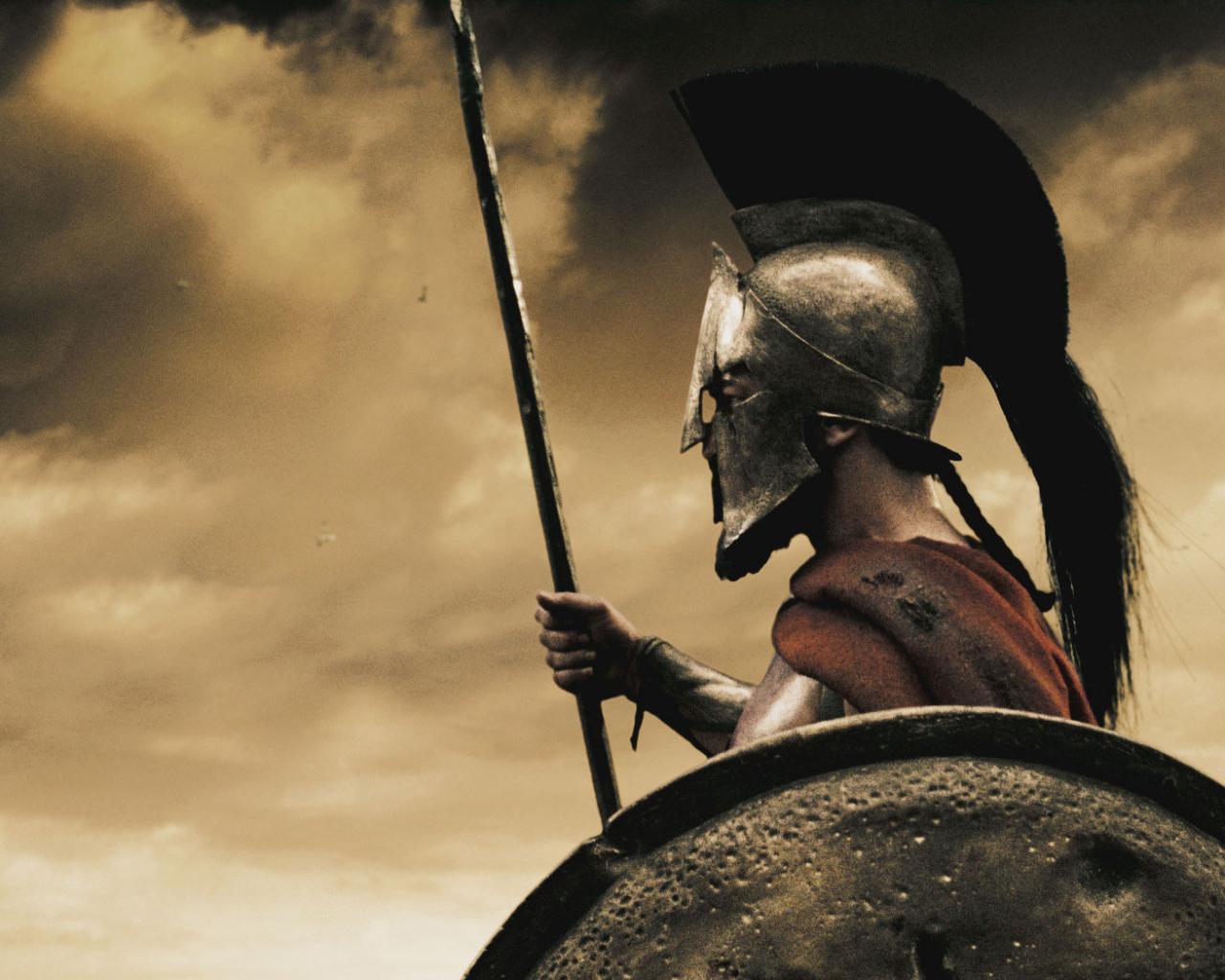 300 спартанцев, Леонид, Джерард Батлер, царь обои для рабочего ...