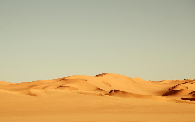 Реклама обои природа пустыня 1440x900