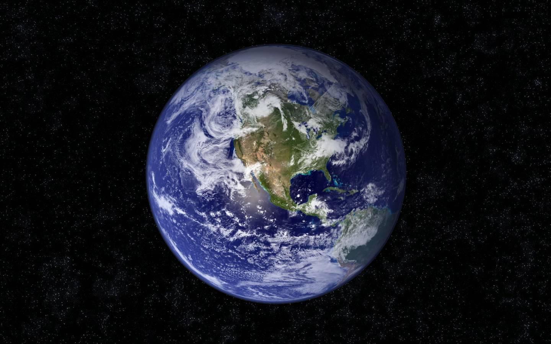 Земля из космоса атмосфера обои для