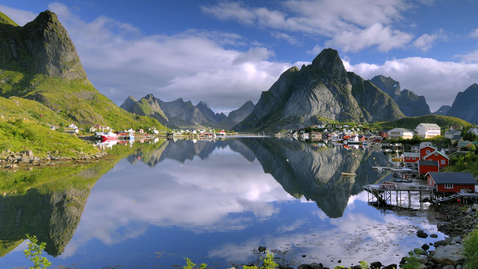 Реклама обои природа природа озеро