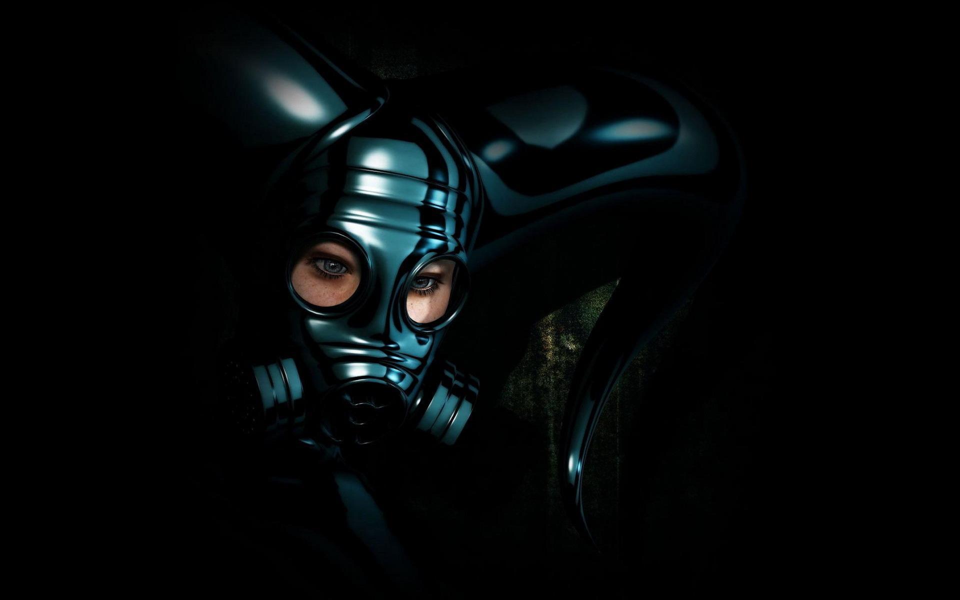 Девушка шлем глаза