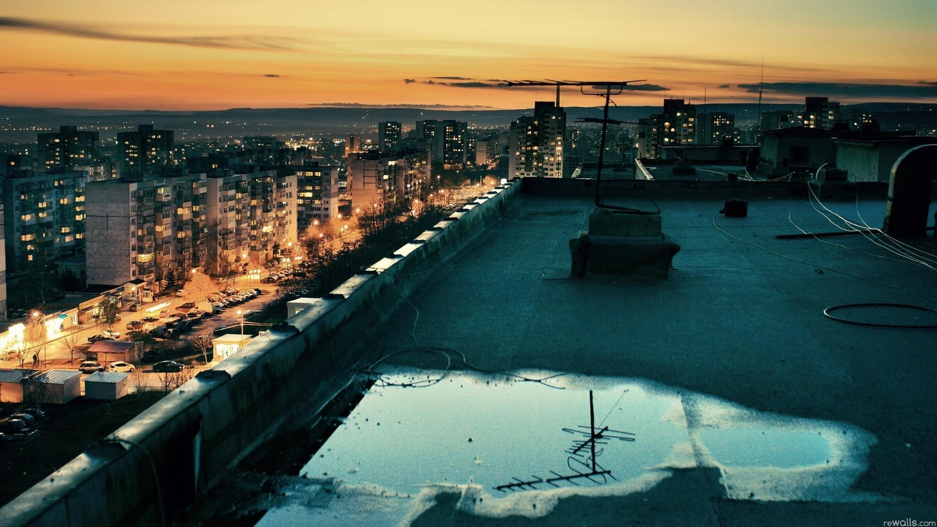 Обои дома, крыша, Город. Города foto 6