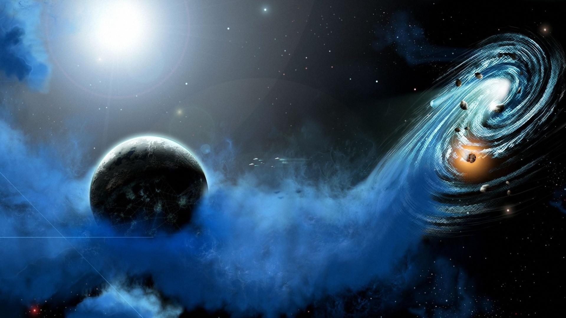 Планета космос галактика обои для