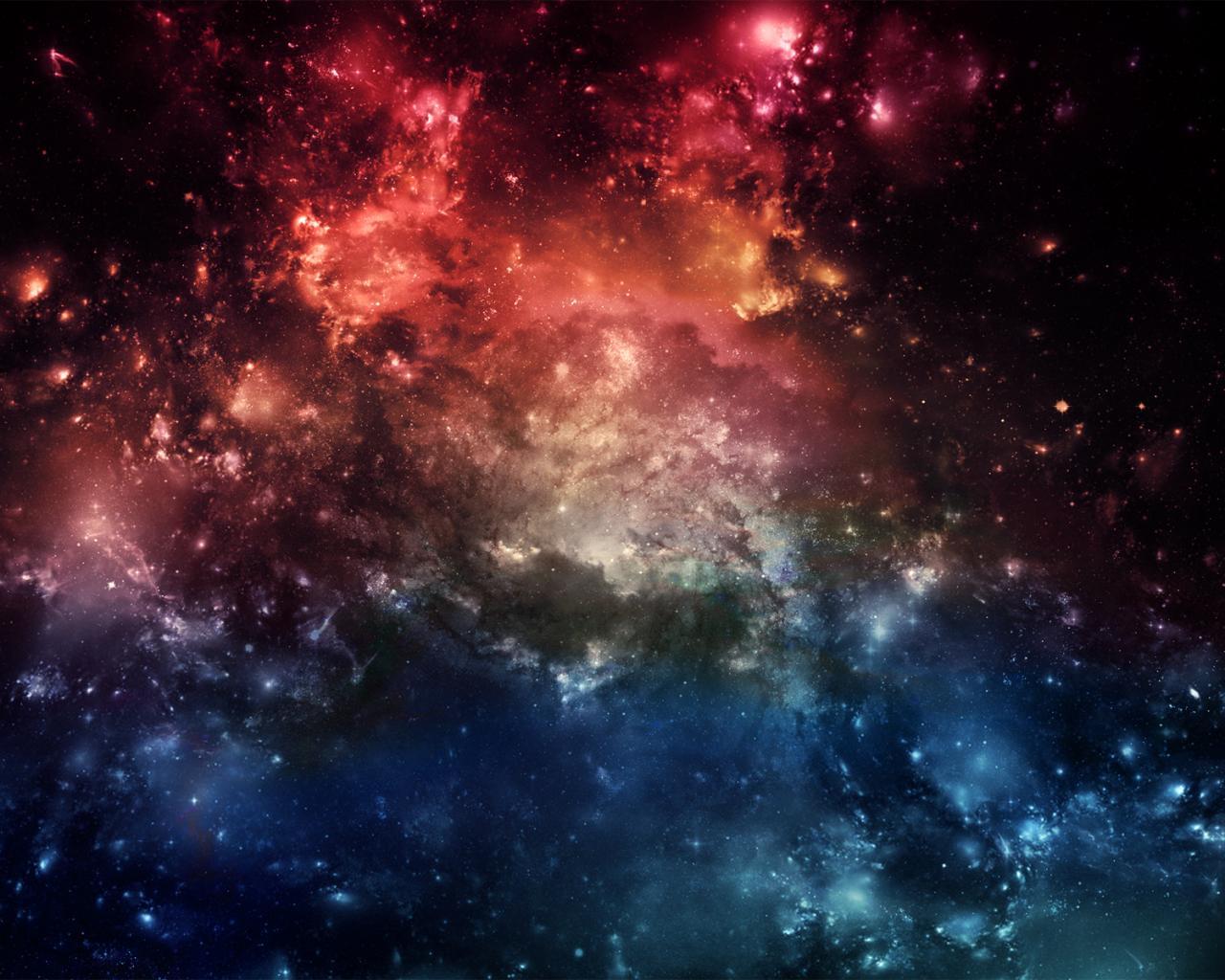 Космос космос звезды туманность