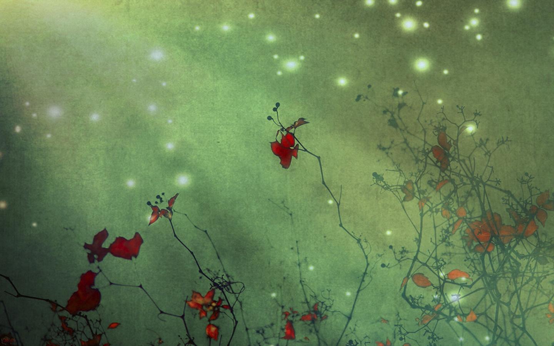 Абстракция цветы обои для рабочего