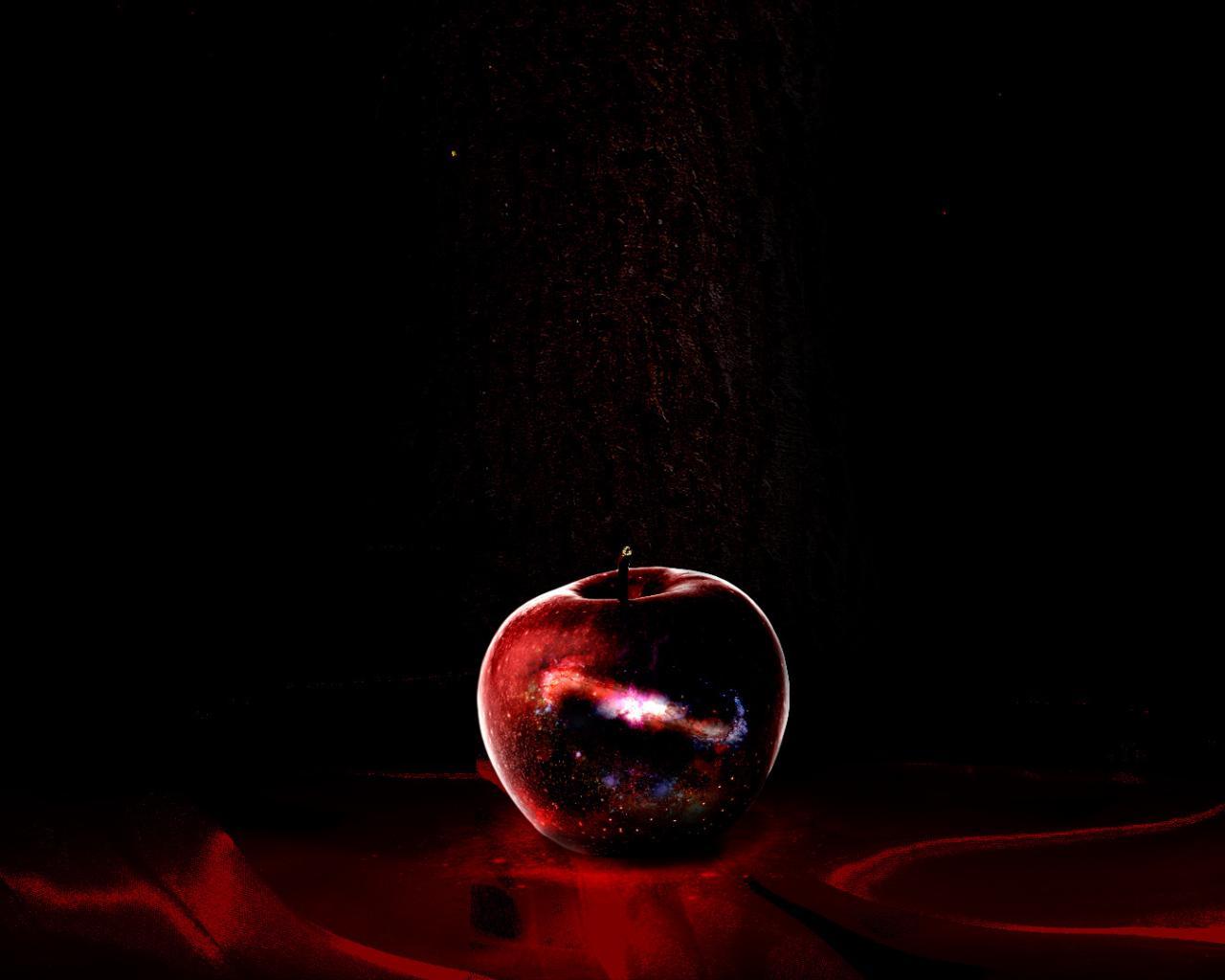 Яблоко искушение красота обои для