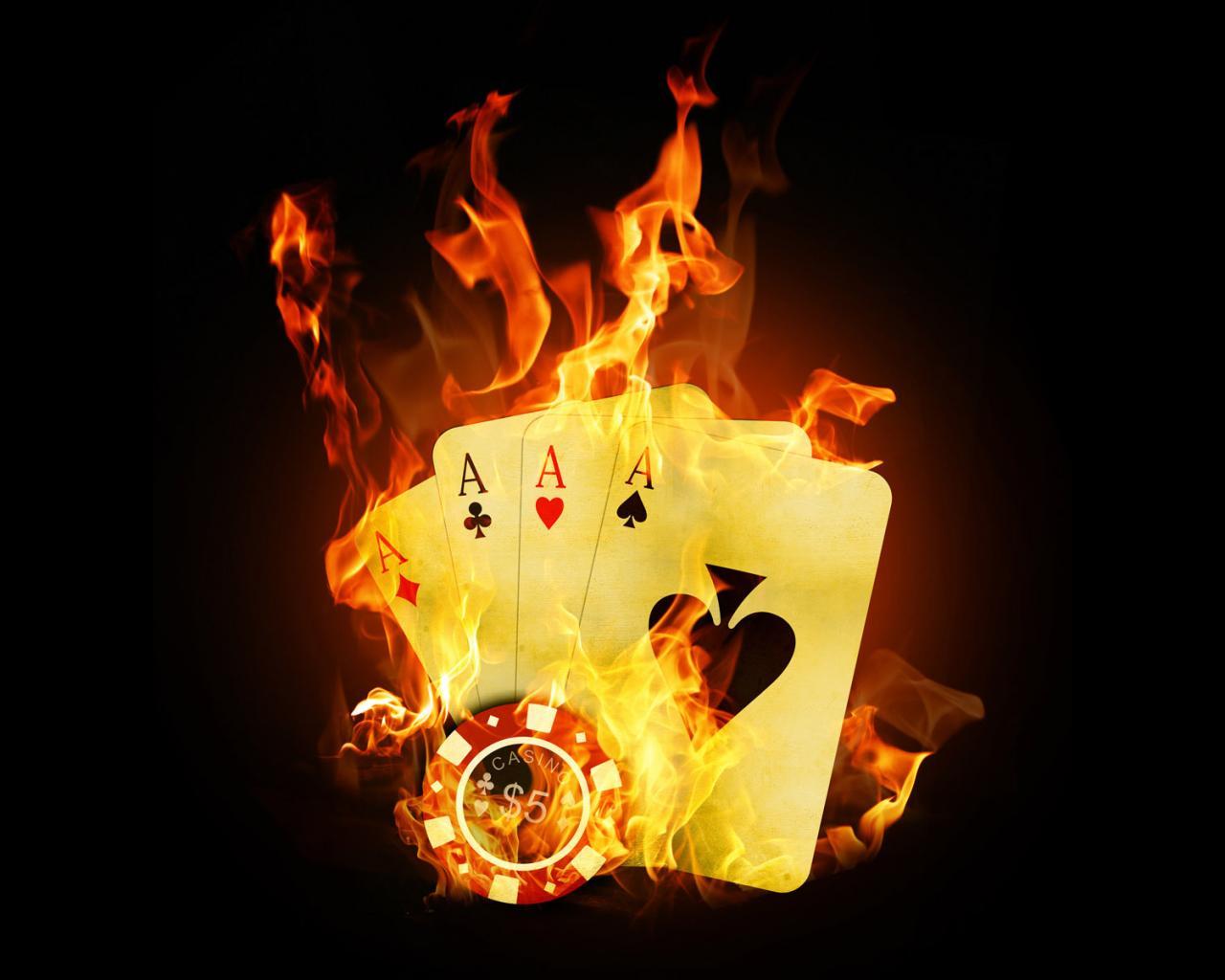 покер заставки