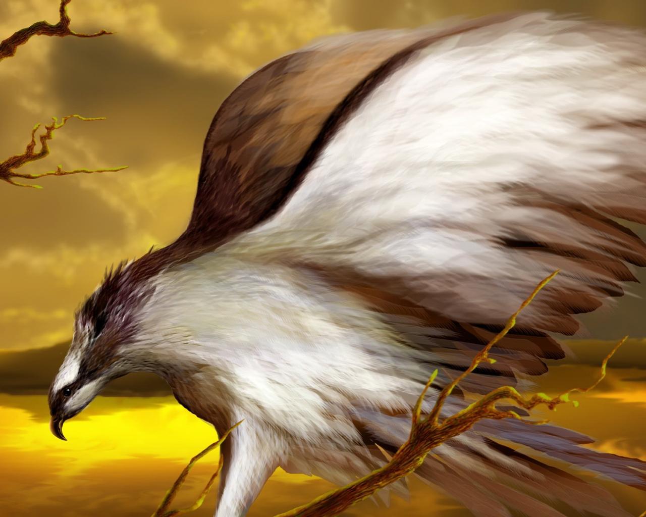 Крылья орел рисунок