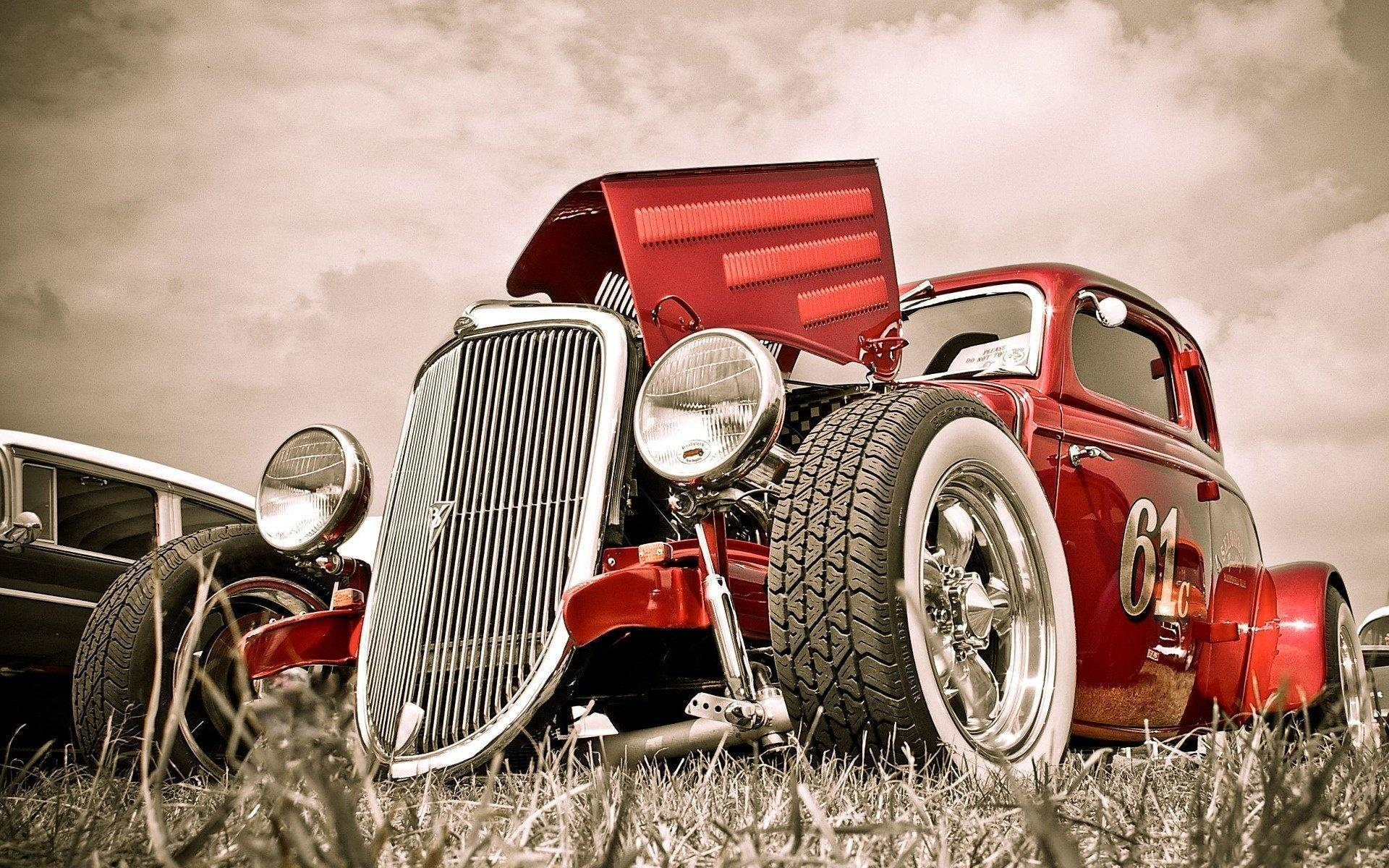 Hot rod, old car 1920x1200