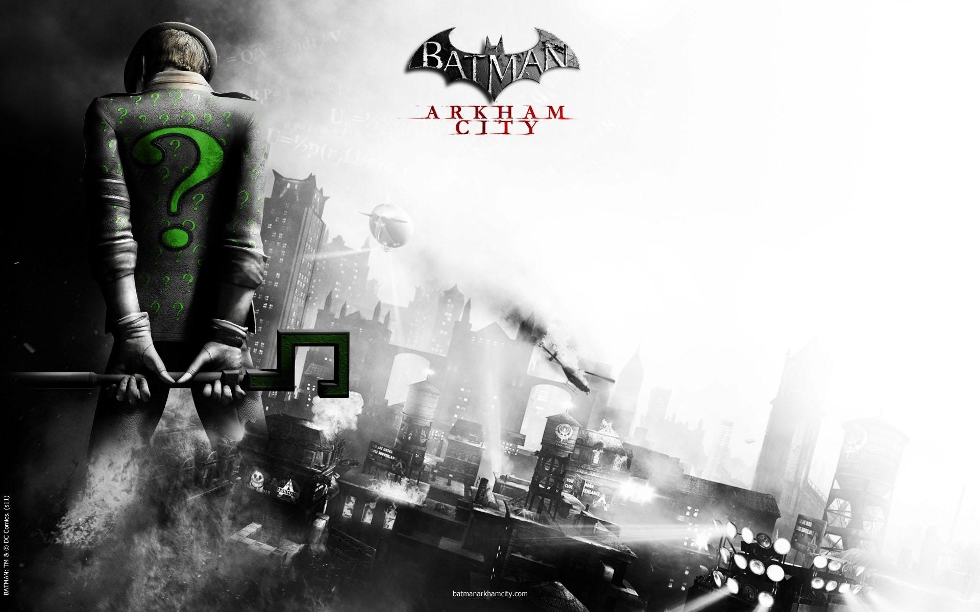 Batman: Arkham City - Riddler (Загадочник) 1920x1200
