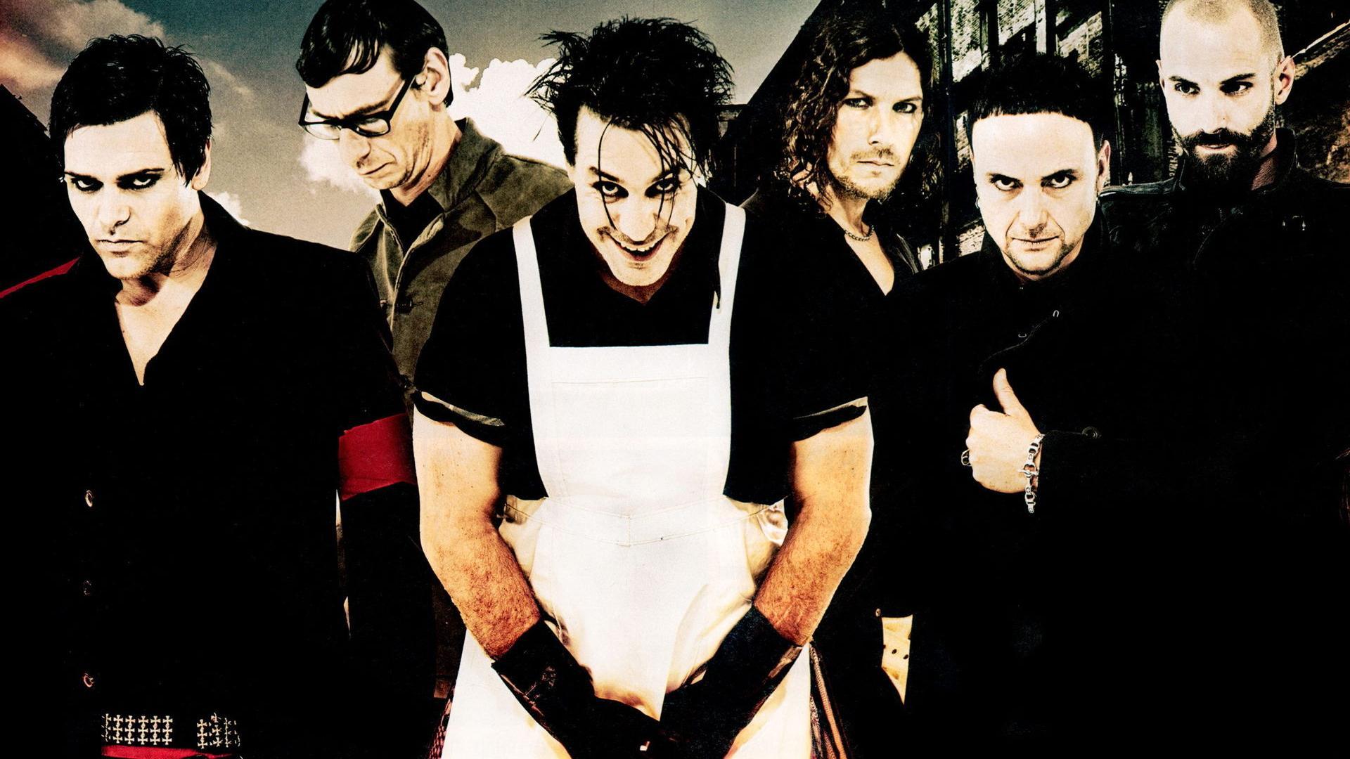 Rammstein, группа, till, richard, paul, oliver обои для рабочего ...