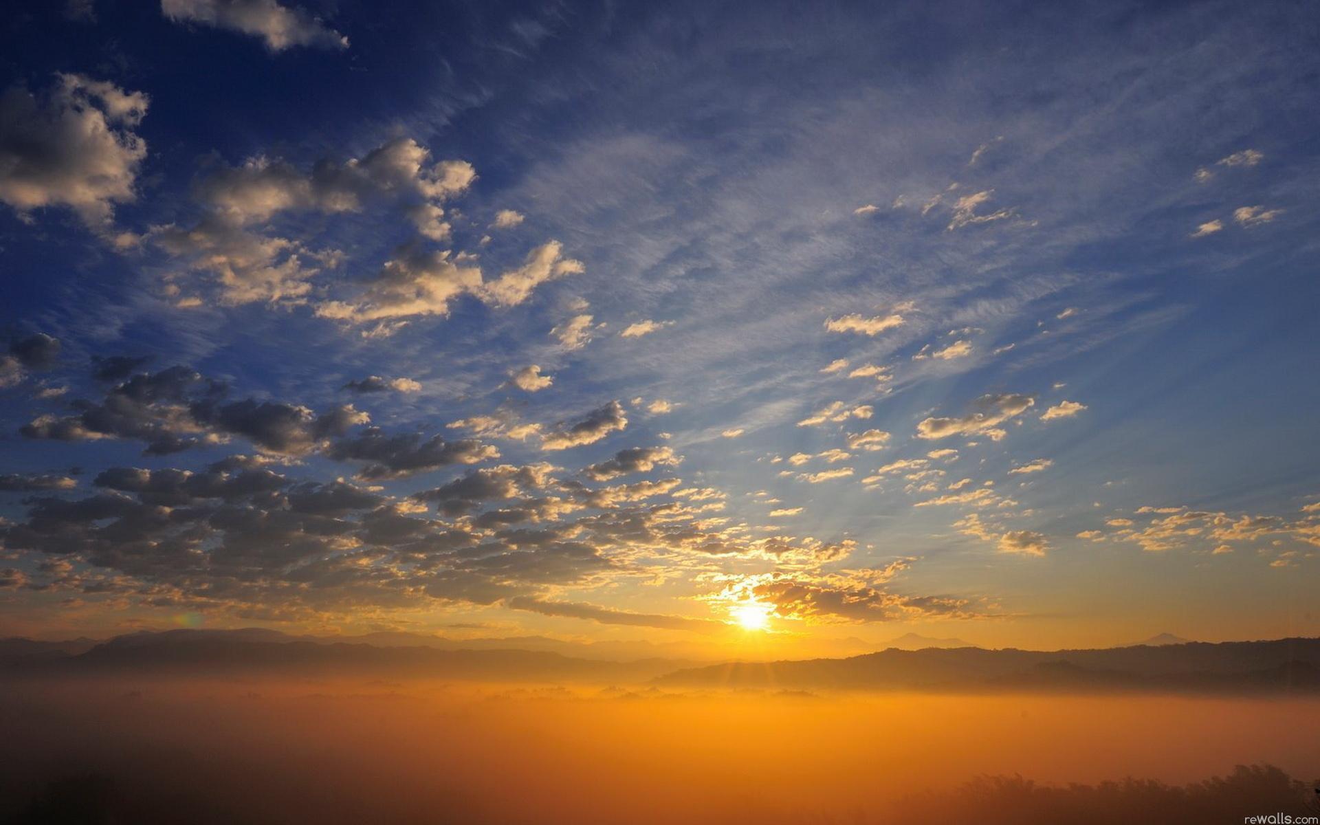 Обои красота, Облака. Природа foto 11