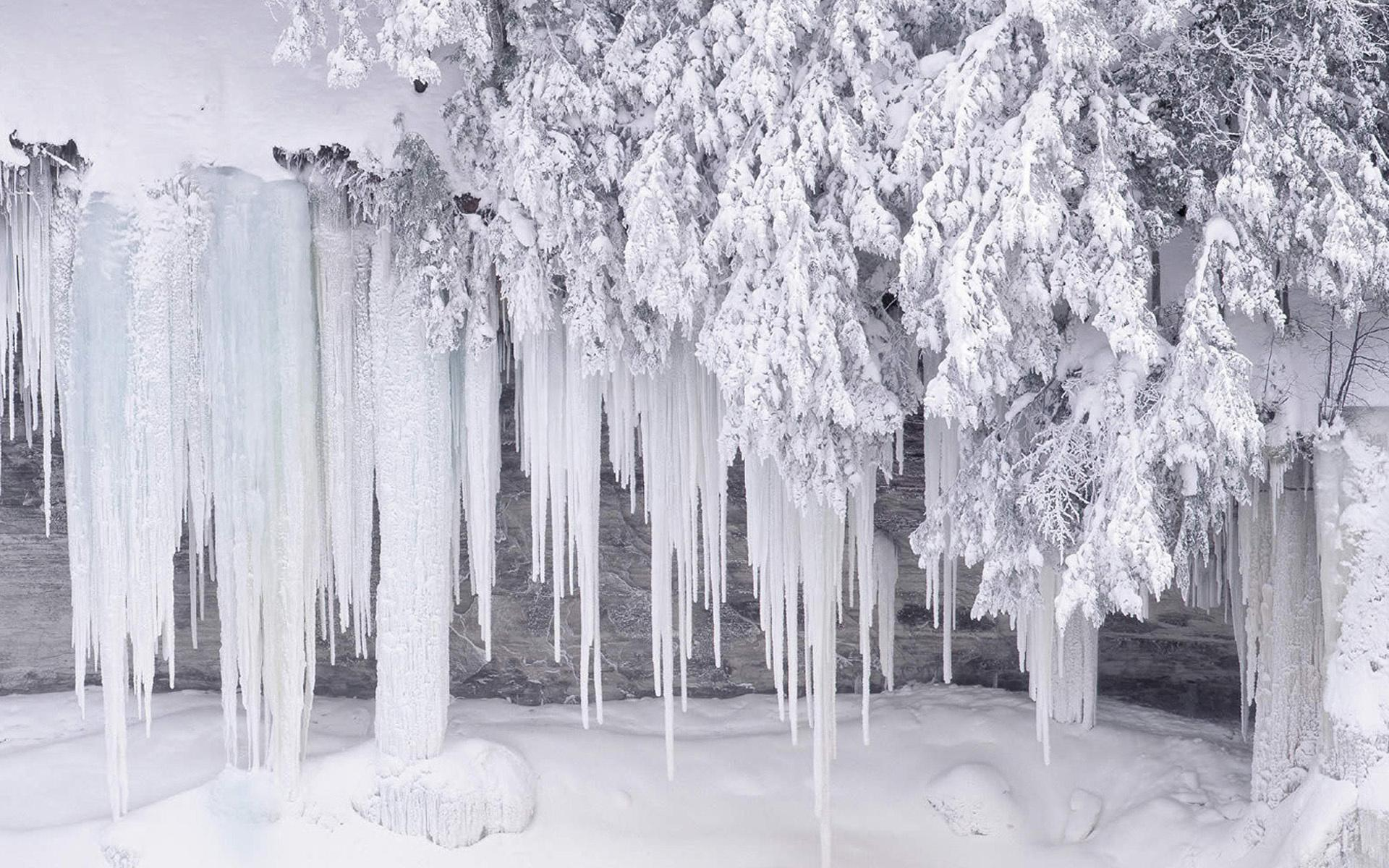 Обои природа природа зима лед 1920x1200