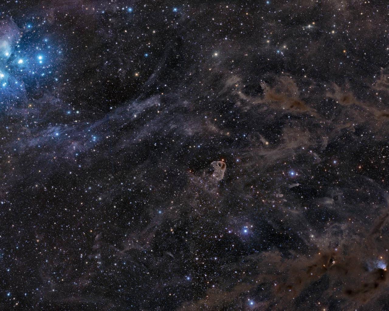Обои космос безмолвный космос 1280x1024