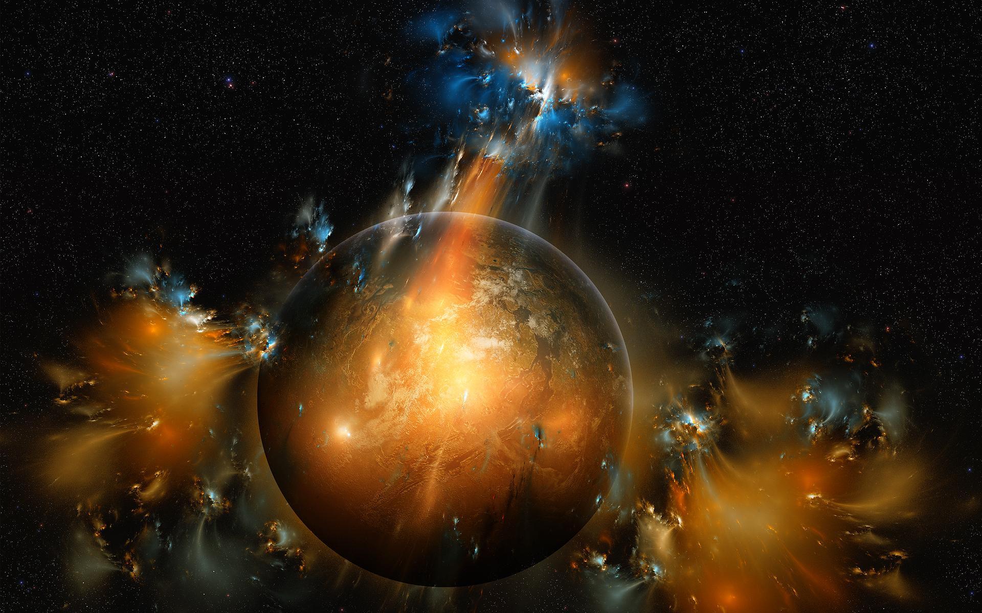 Космос фантастика космос планета