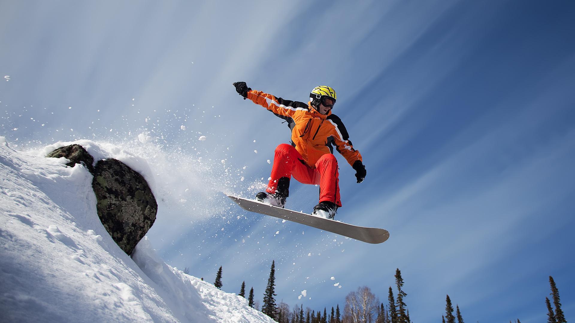 Спорт спорт сноуборд горы снег 1920x1080