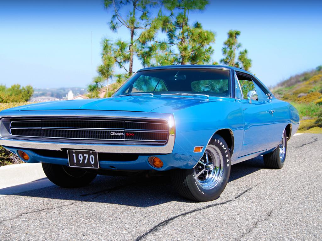1970, dodge, charger, 500 1024x768
