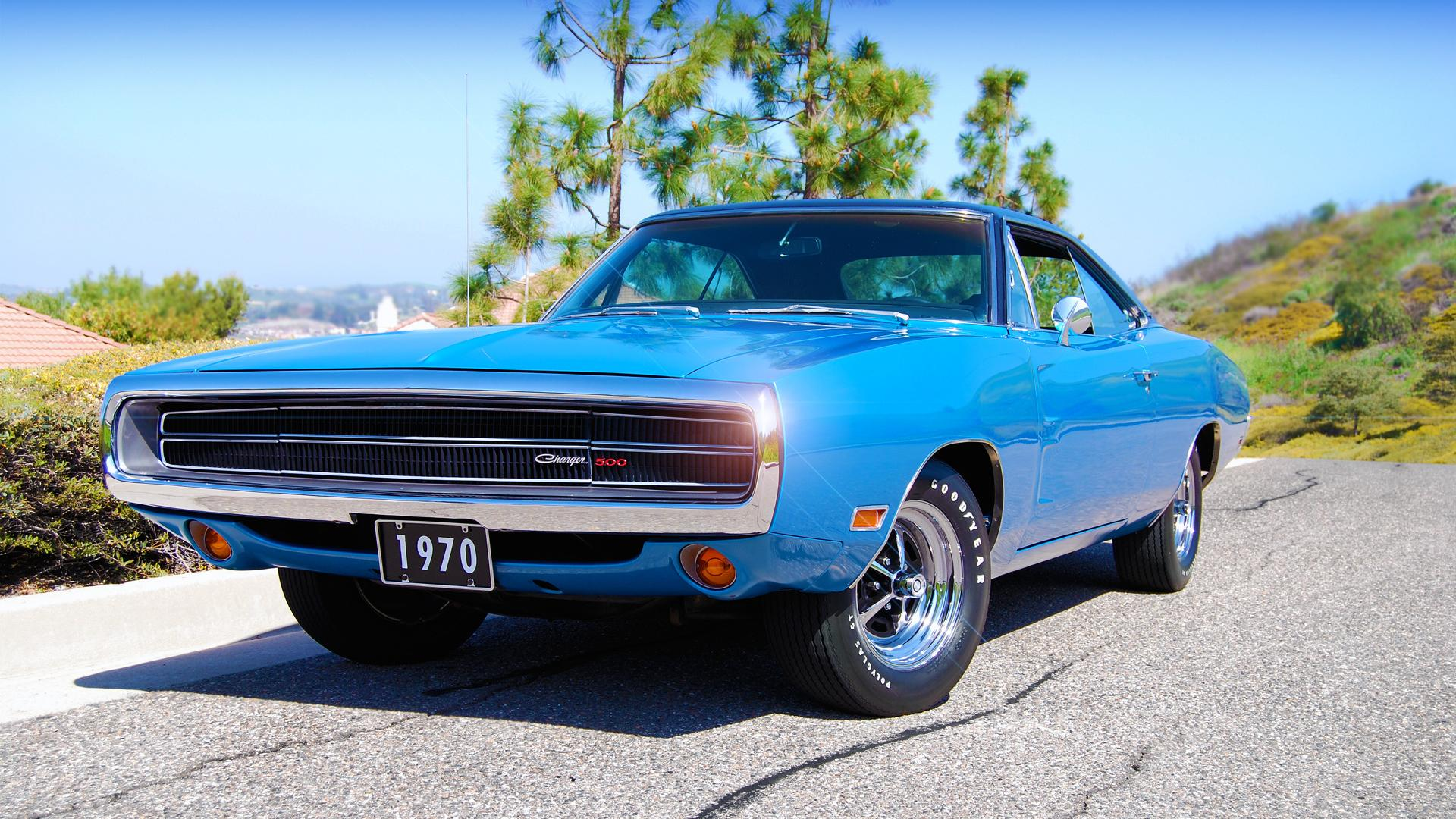 1970, dodge, charger, 500 1920x1080