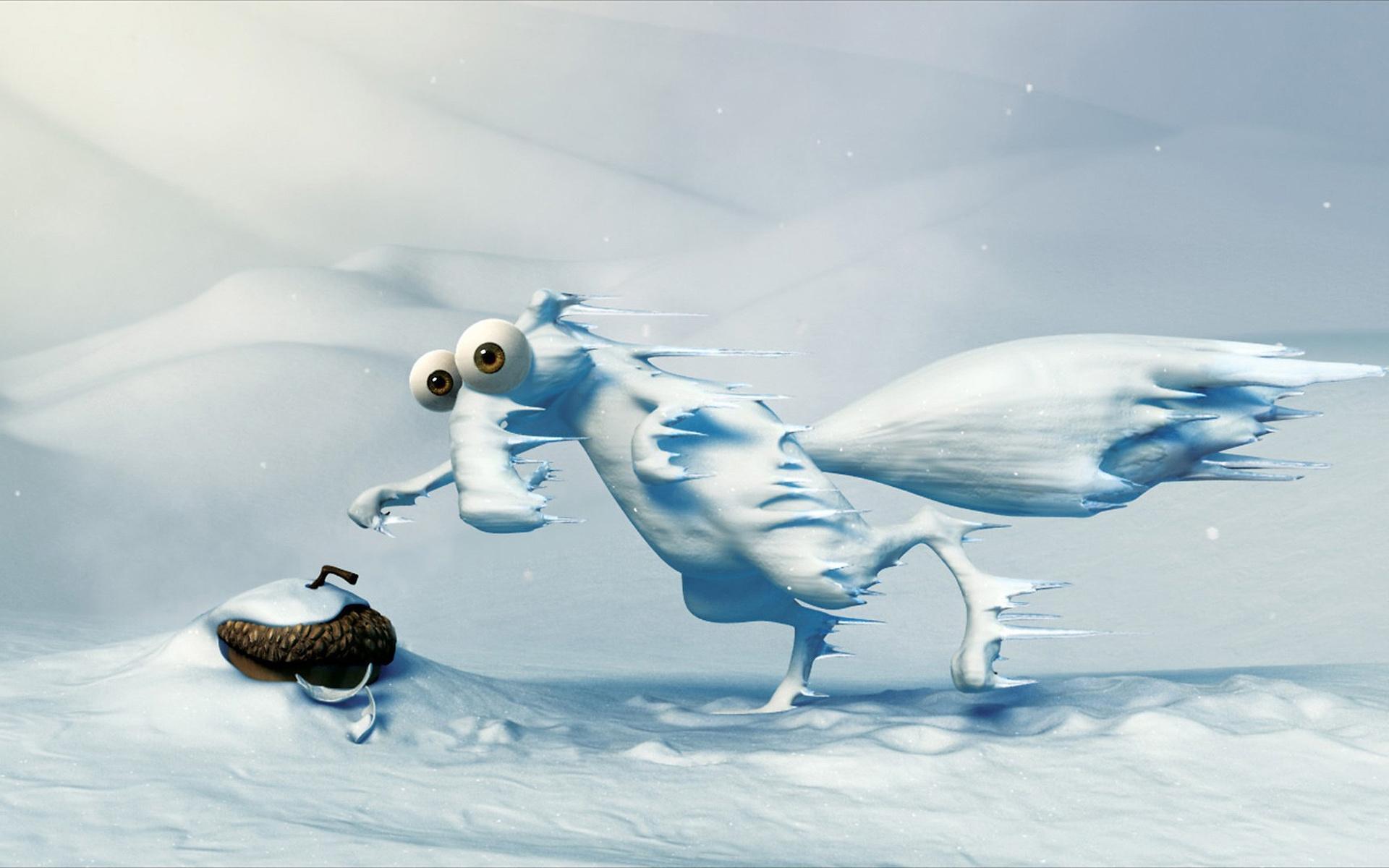 Ice age бёлка ледниковый период обои для