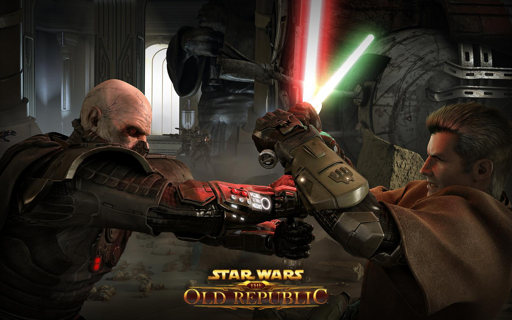 К игре Star Wars Old Republic 1680x1050