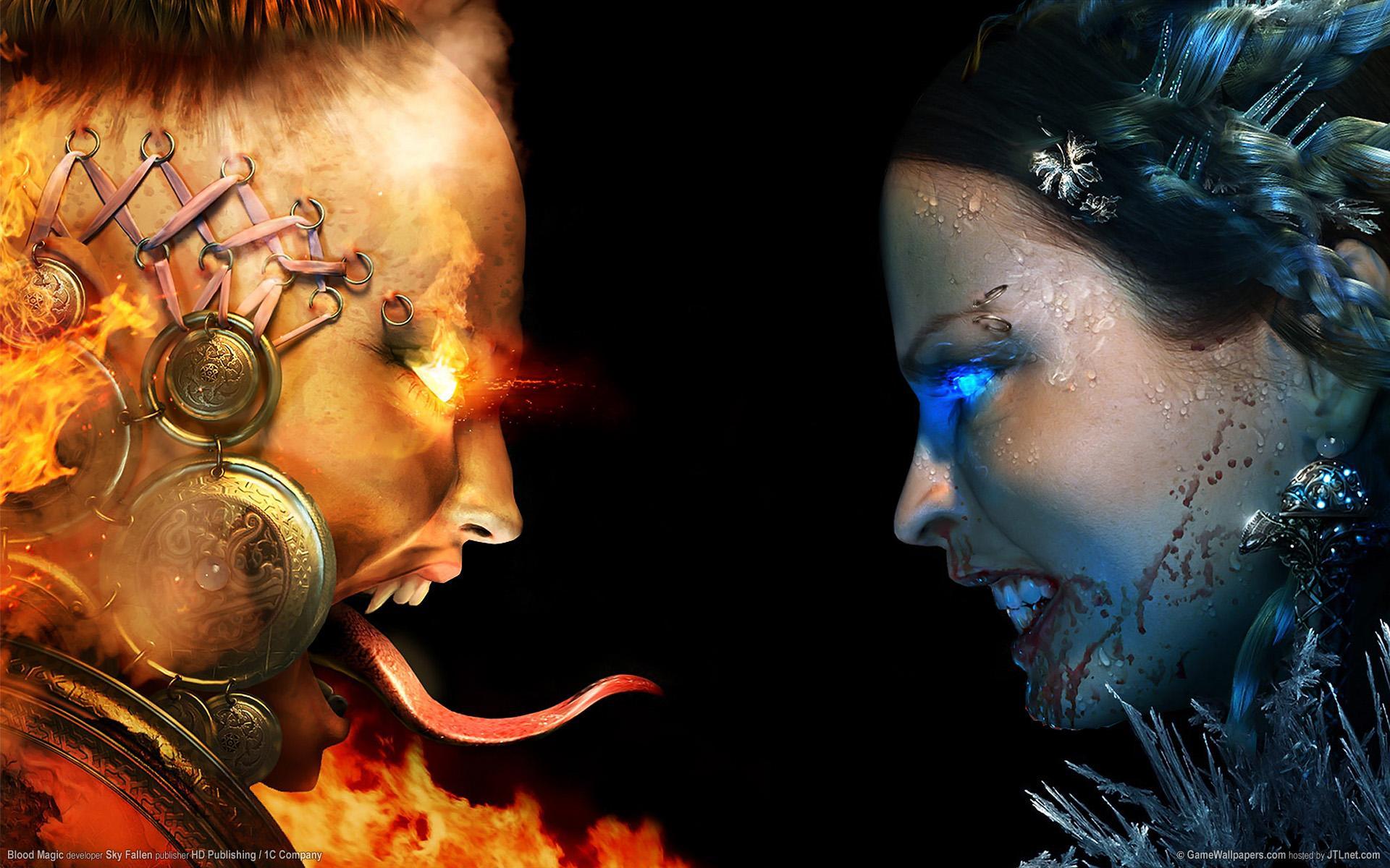 Картинка огонь и лед игры - 07