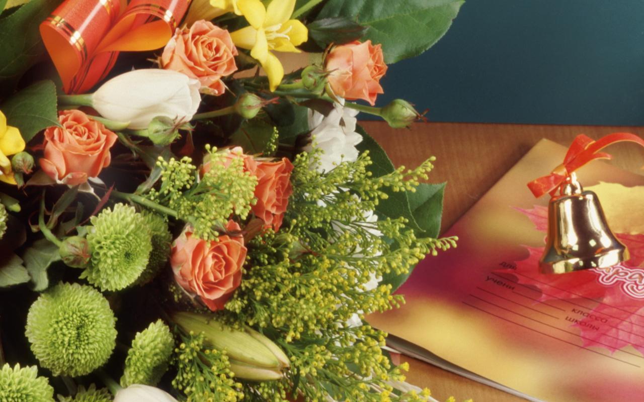 Цветы учителю картинки 3