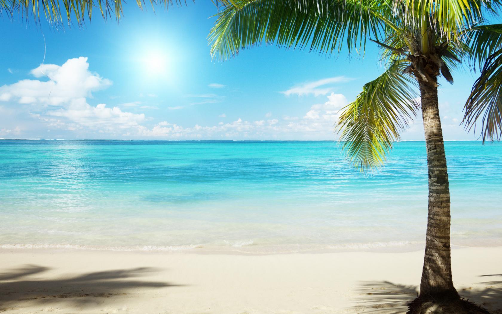 океан солнце фото