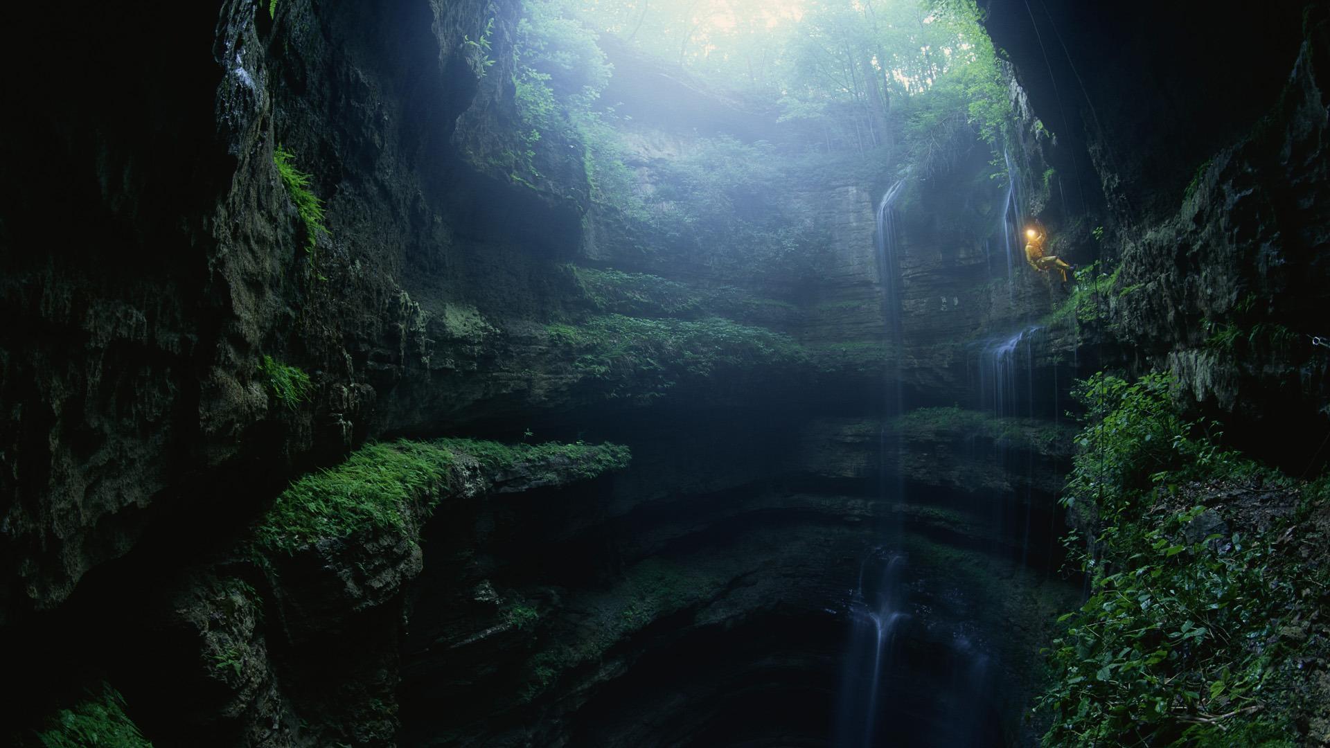 Природа пейзаж природа ущелье пещера