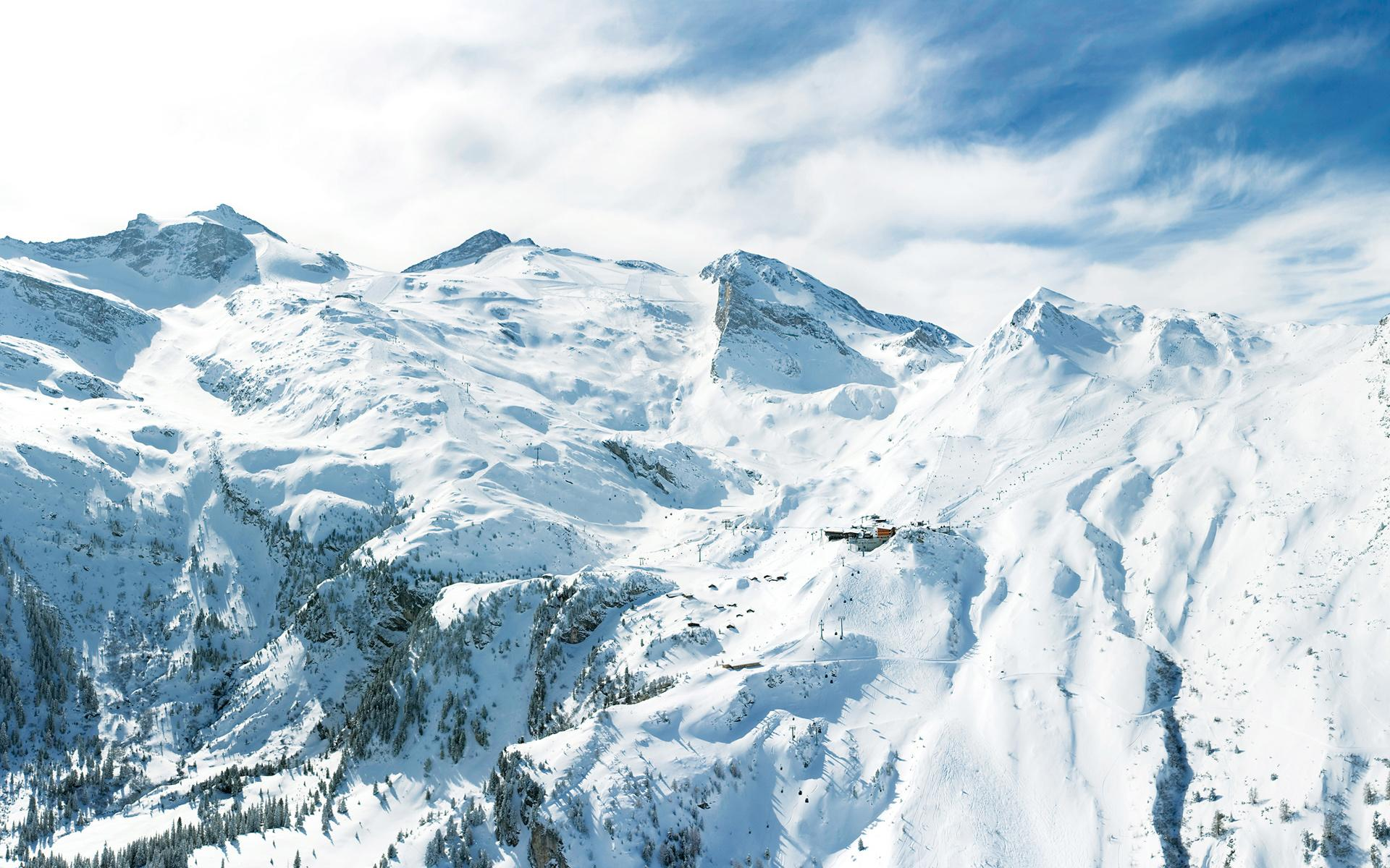 Картинки на тему зима в горах