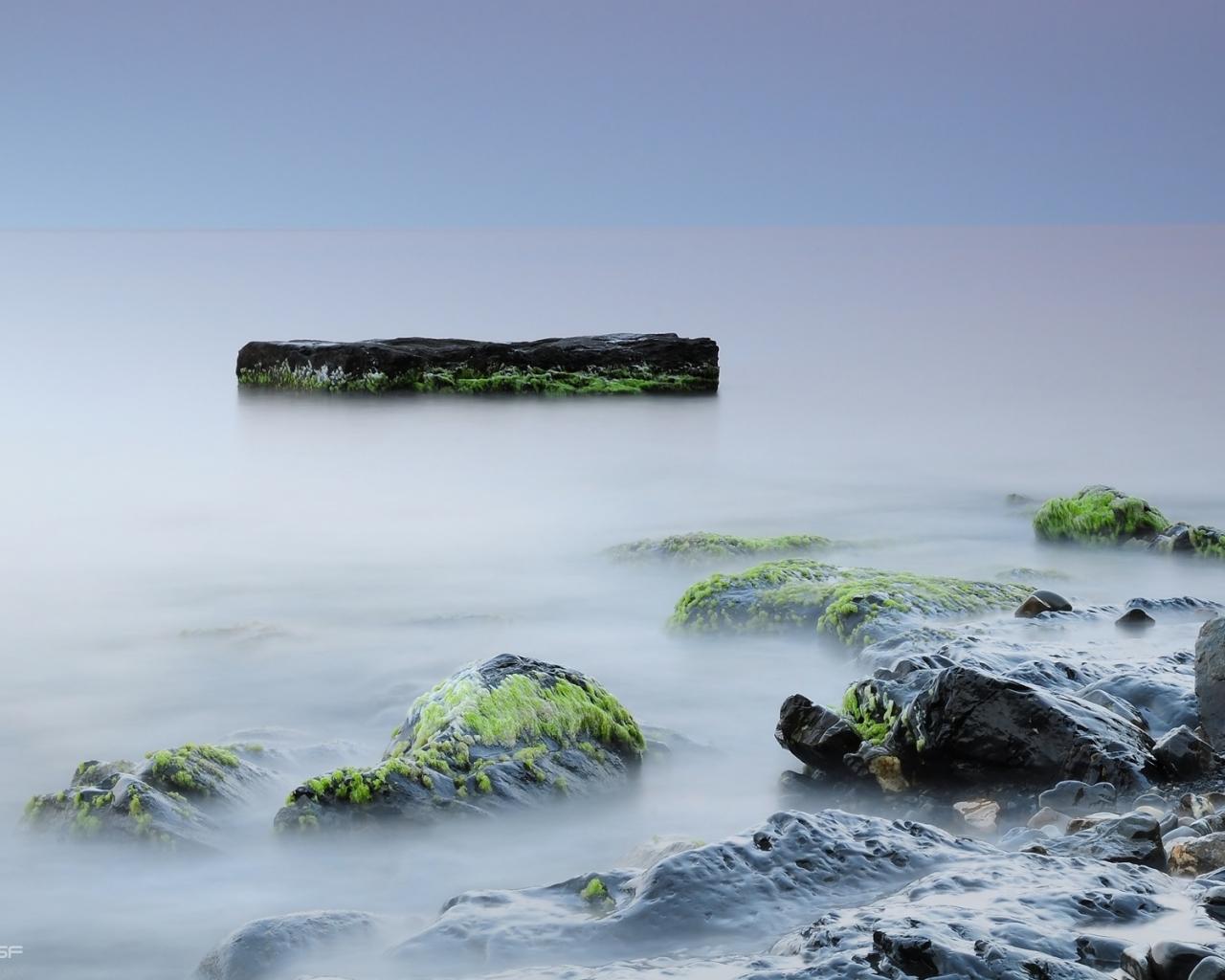 Камни природа море обои для рабочего