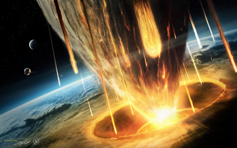 Обои земля, астероиды. Космос foto 18