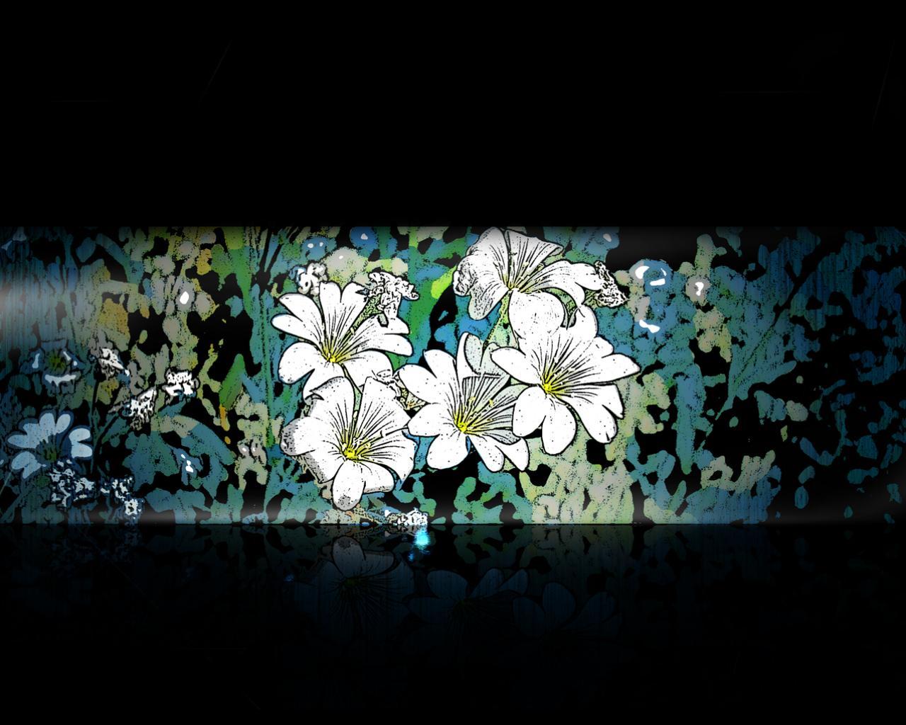 Обои цветы на рабочем столе бесплатно природа