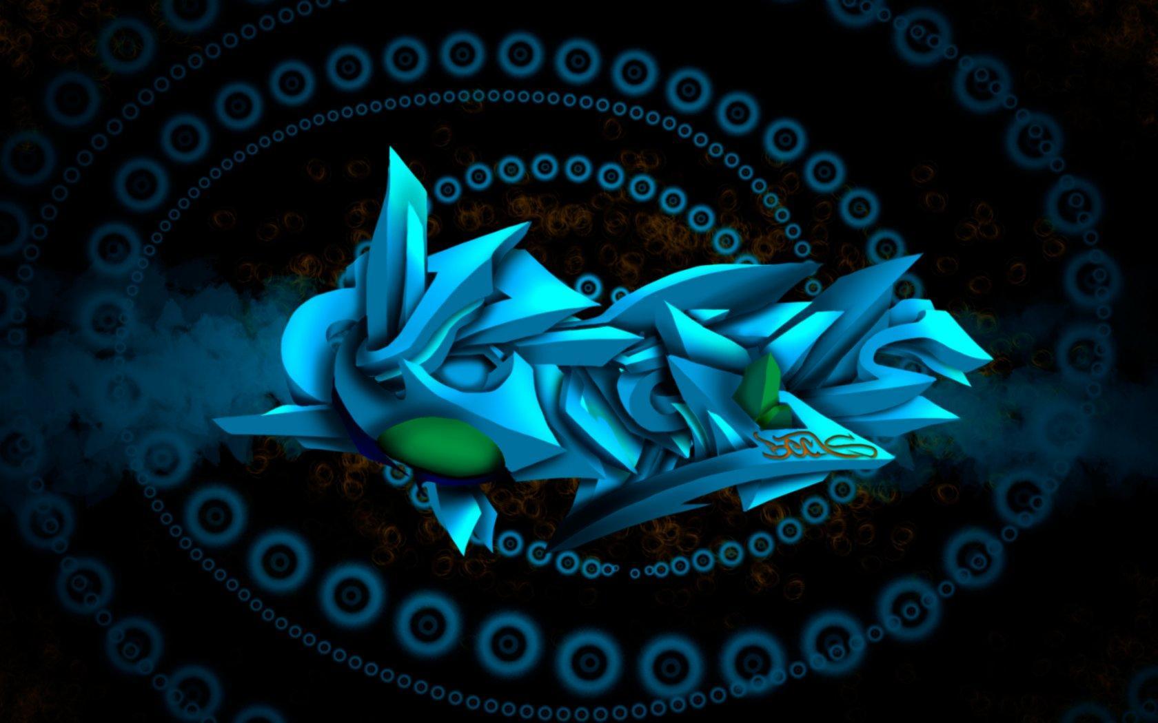 Граффити абстракция обои для рабочего