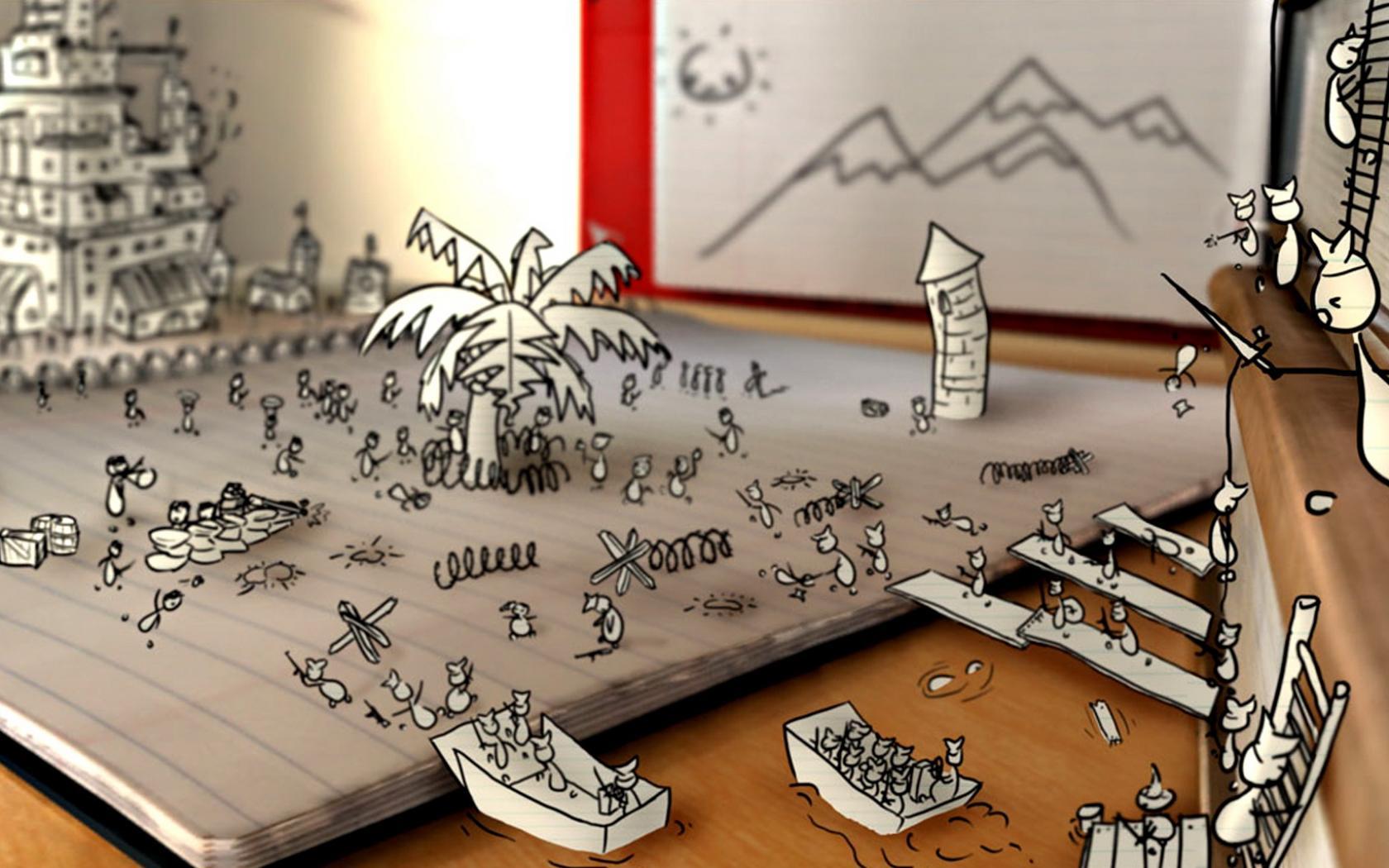 мультяшные картинки для рабочего стола: