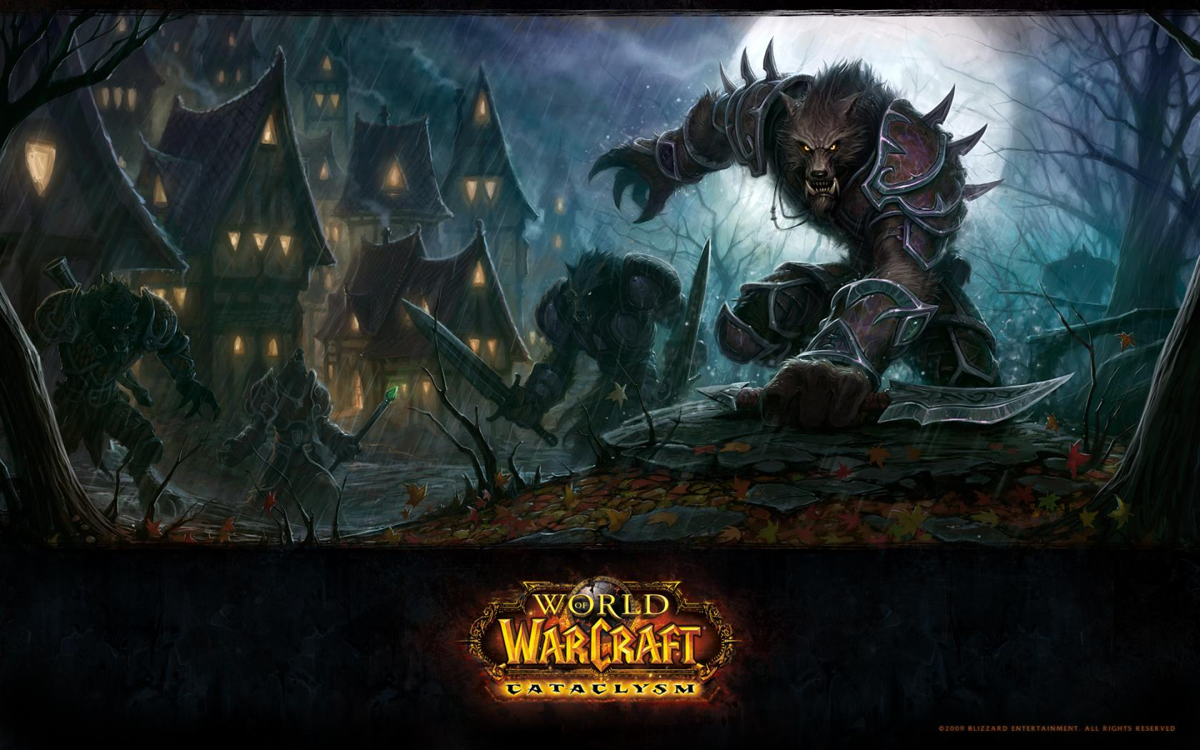 Wow, world of warcraft, worgen, cataclysm 1680x1050