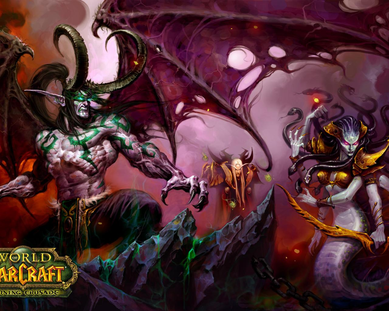 Игры, warcraft, world of warcraft, wow 1280x1024
