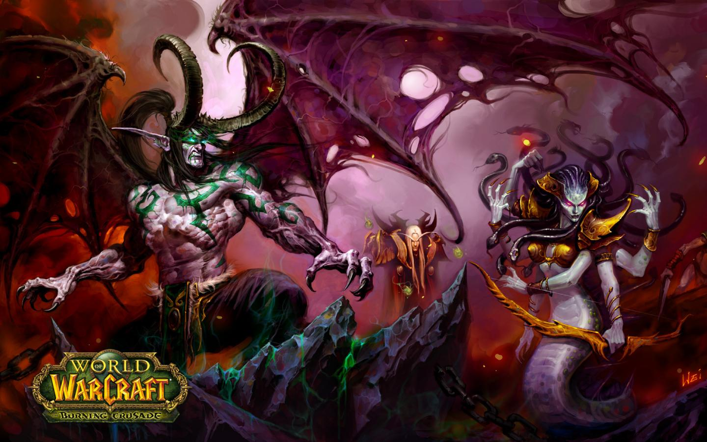 Игры, warcraft, world of warcraft, wow 1440x900