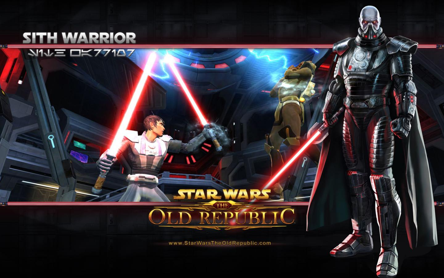 Игровые Star Wars Old Republic пикселей 1440x900