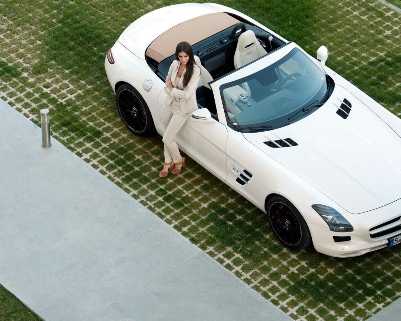 Roadster девушка модель авто тачки авто