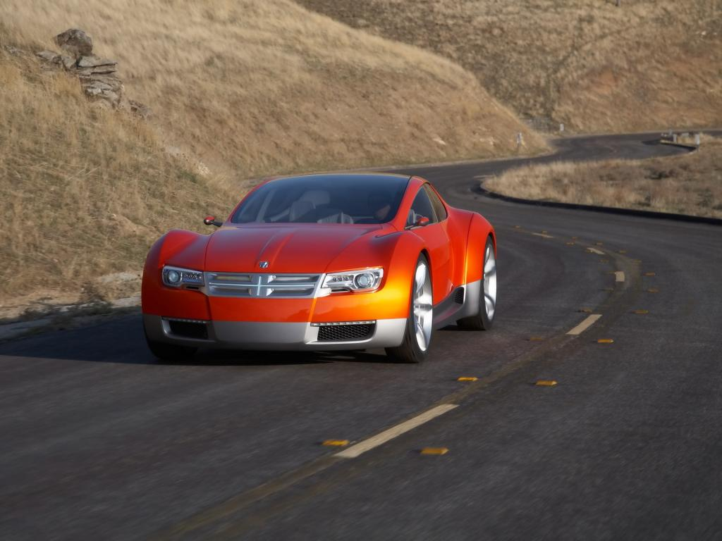 2008 Dodge Zeo Concept Front Angle Speed 1024x768