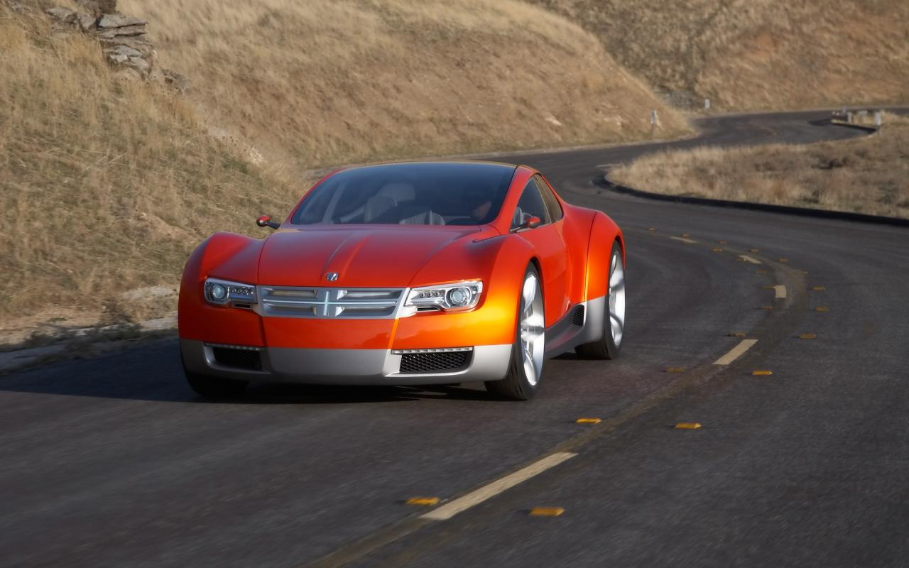 2008 Dodge Zeo Concept Front Angle Speed 1280x800