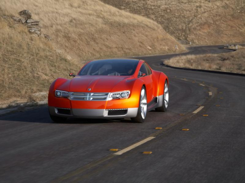 2008 Dodge Zeo Concept Front Angle Speed 800x600