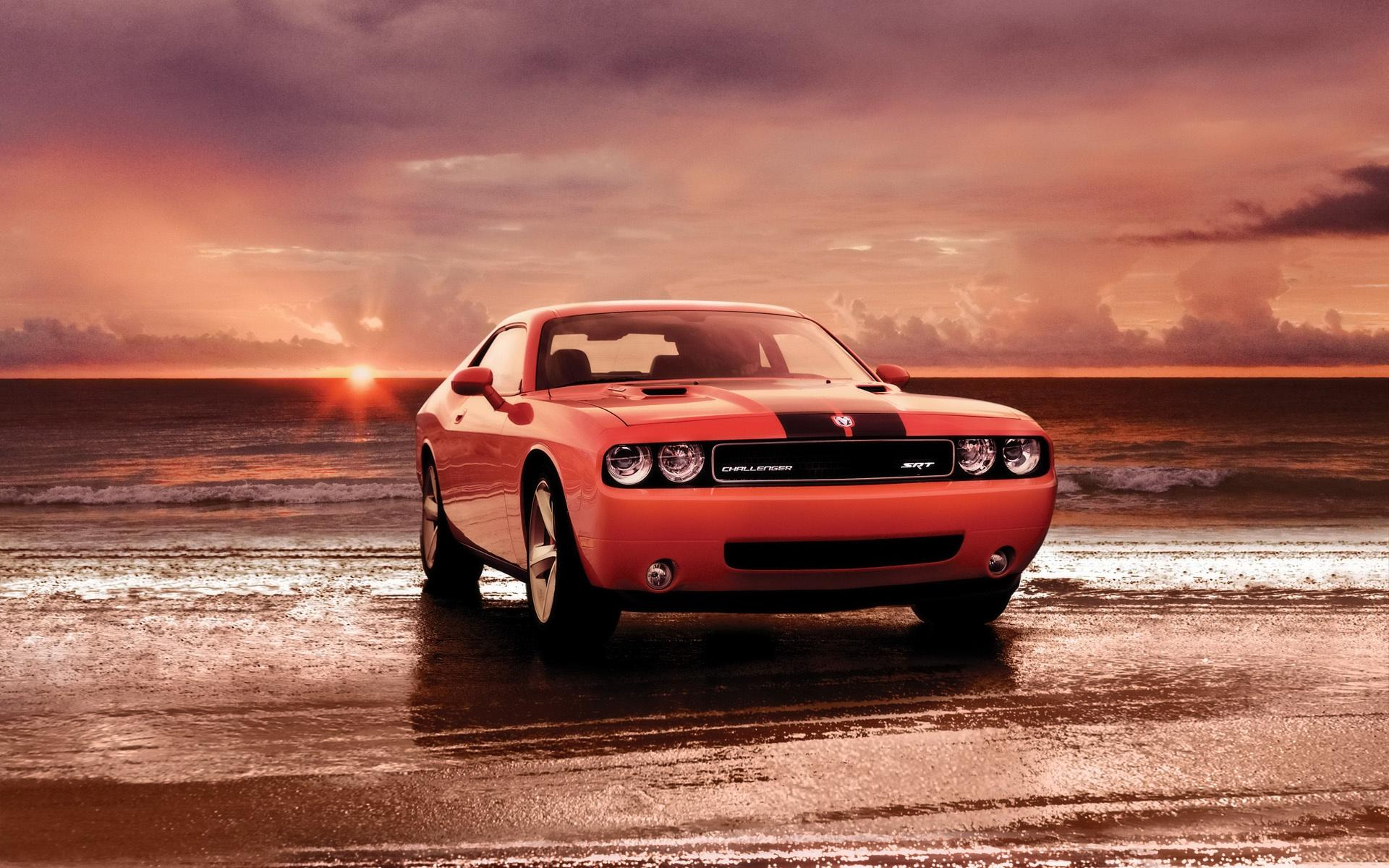 2008 Dodge Challenger Srt8 Front Shore 1920x1200