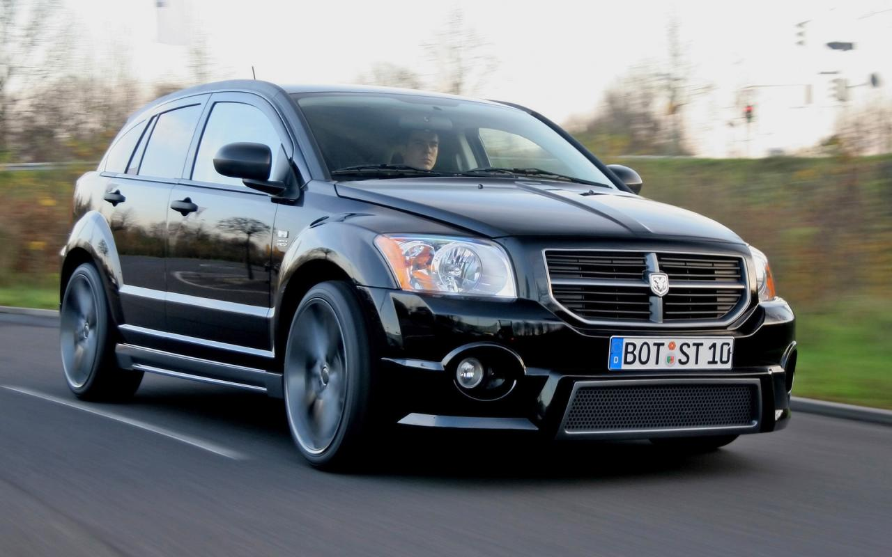2007 Startech Dodge Caliber Front And Side Speed 1280x800