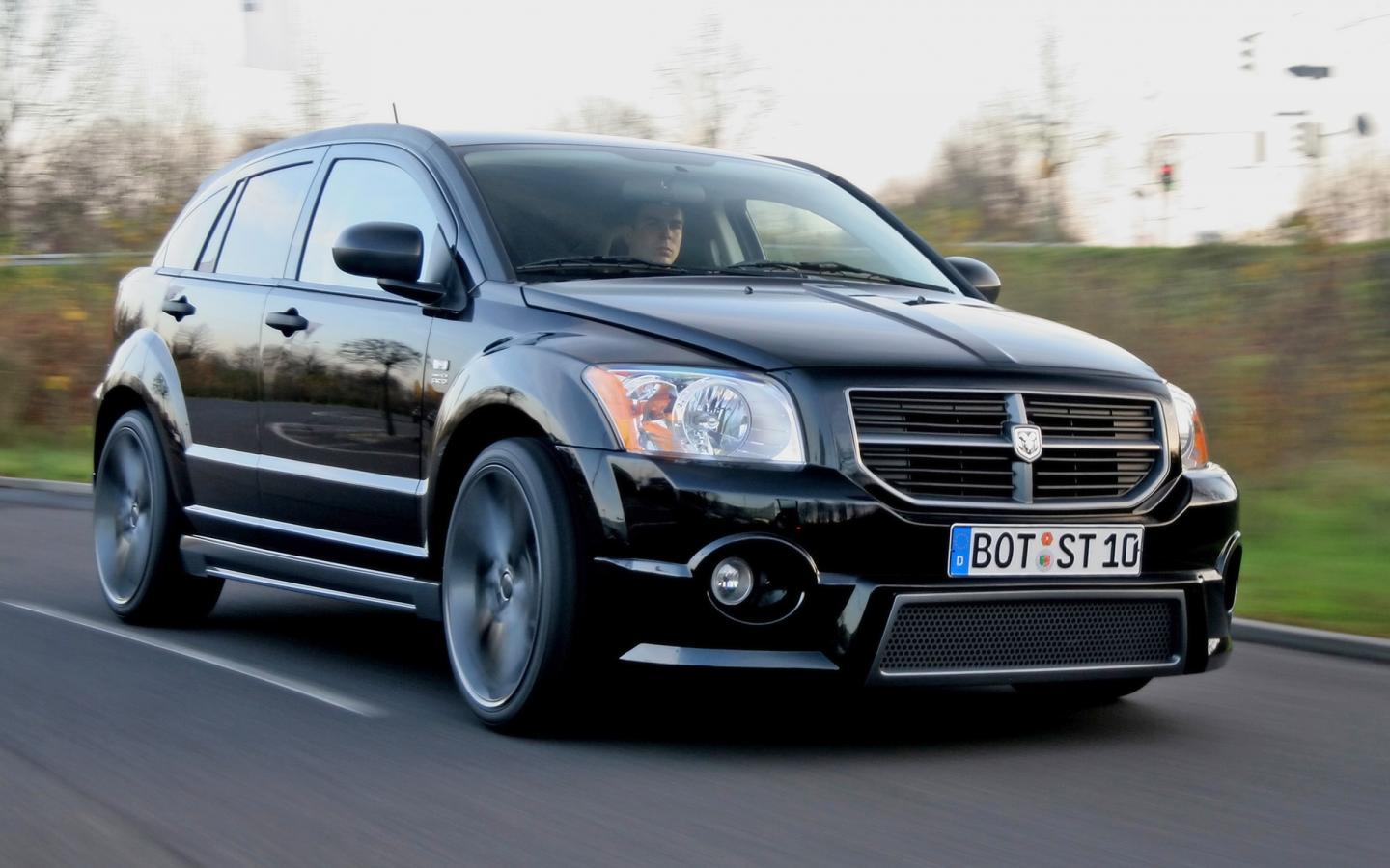 2007 Startech Dodge Caliber Front And Side Speed 1440x900