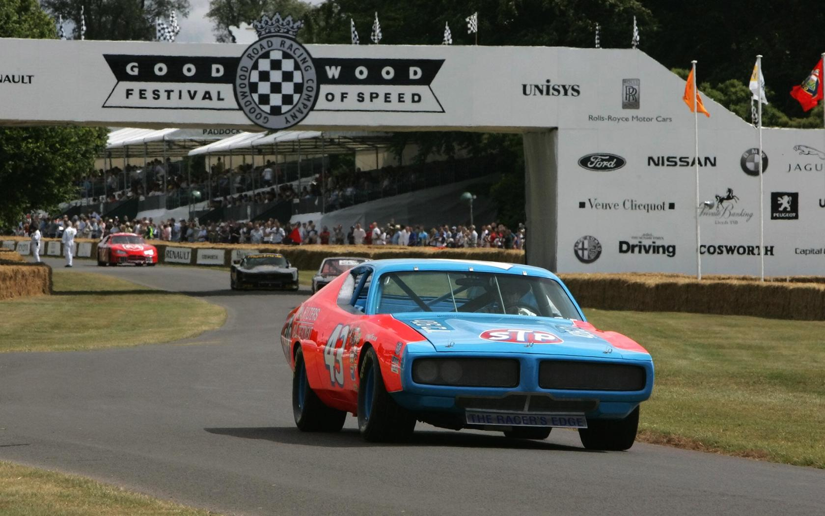 1972 Dodge Charger Nascar Race Car Front Angle 1680x1050
