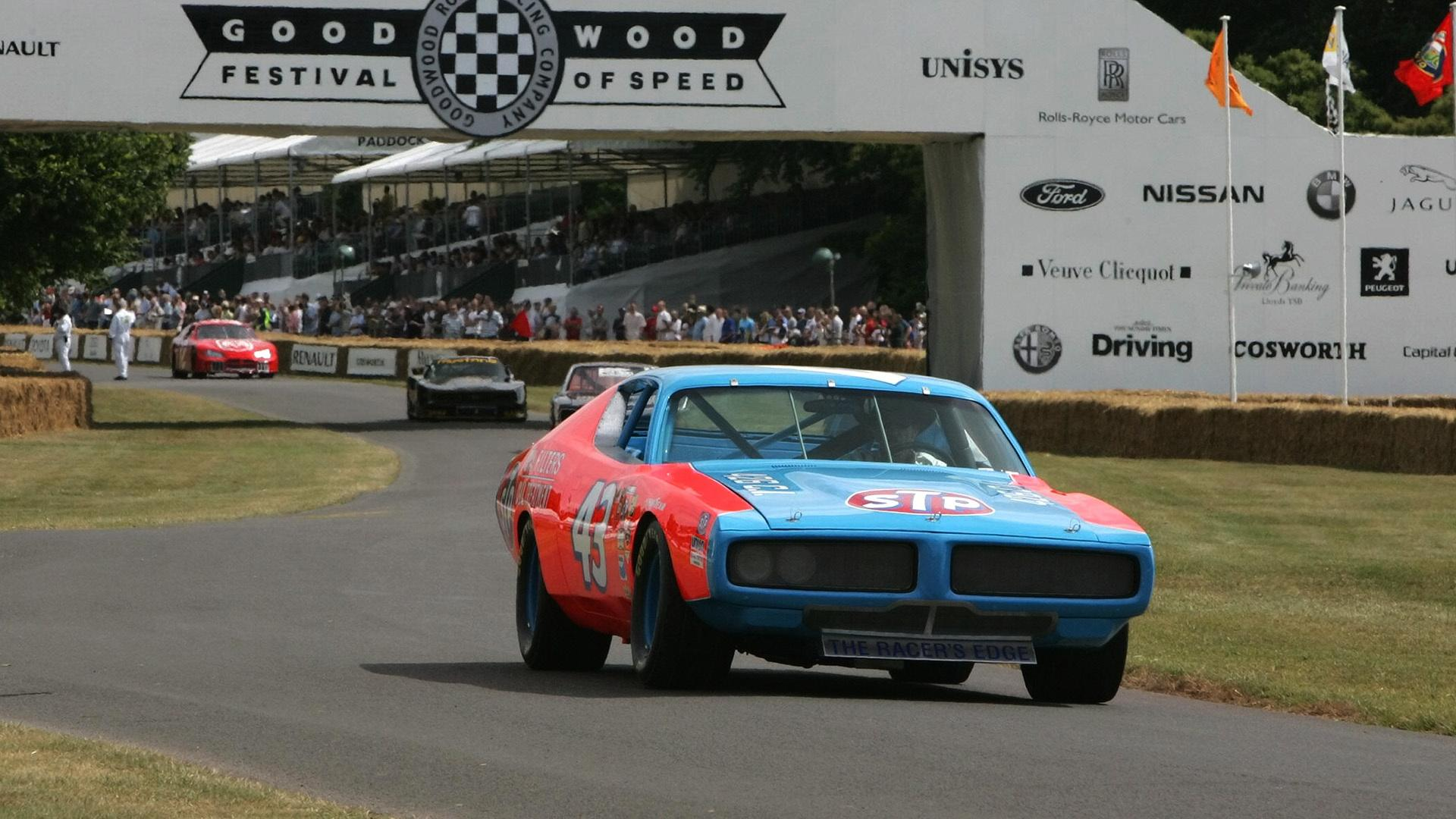 1972 Dodge Charger Nascar Race Car Front Angle 1920x1080