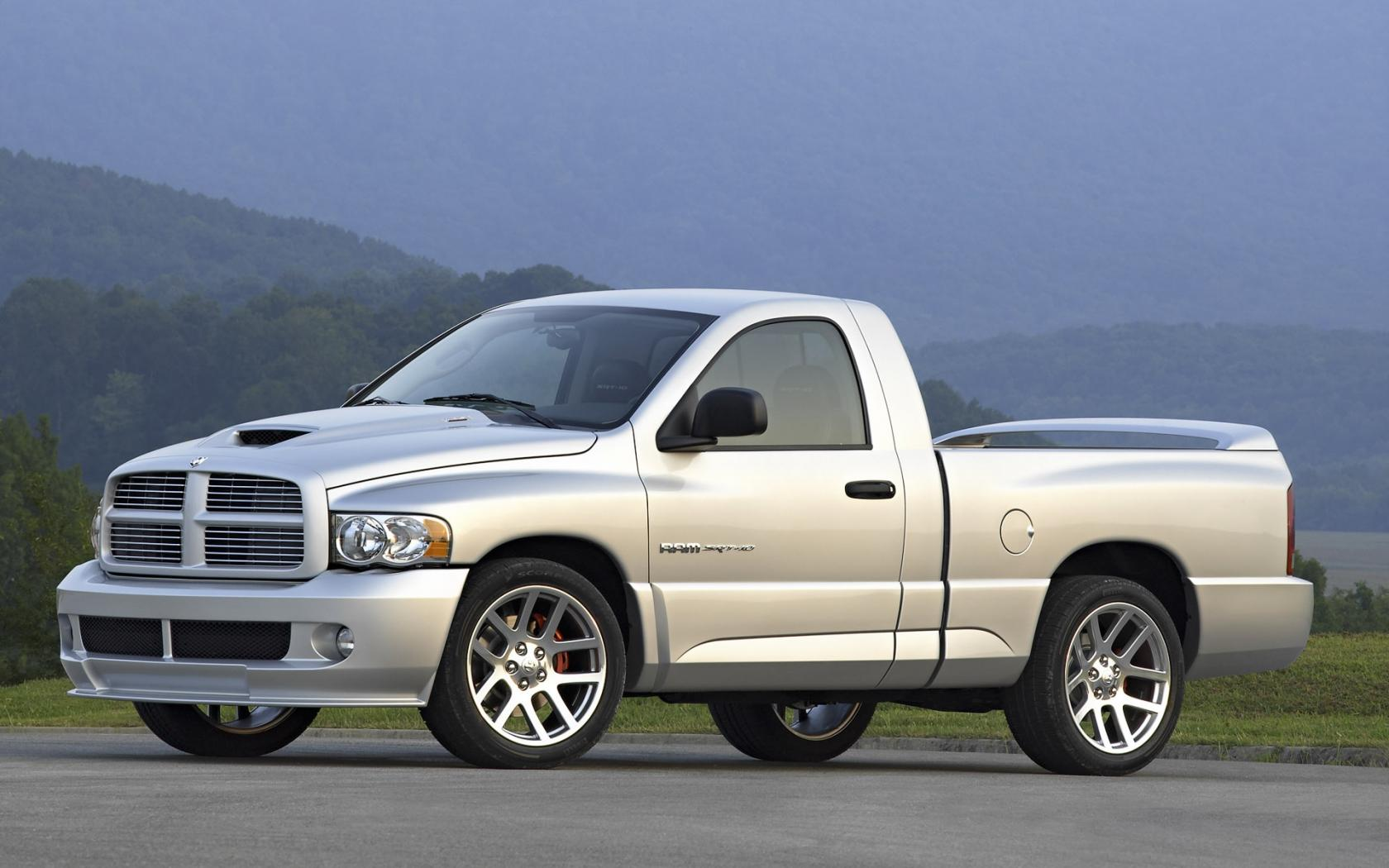 2004 Dodge Ram Srt 10 Side Angle 1680x1050